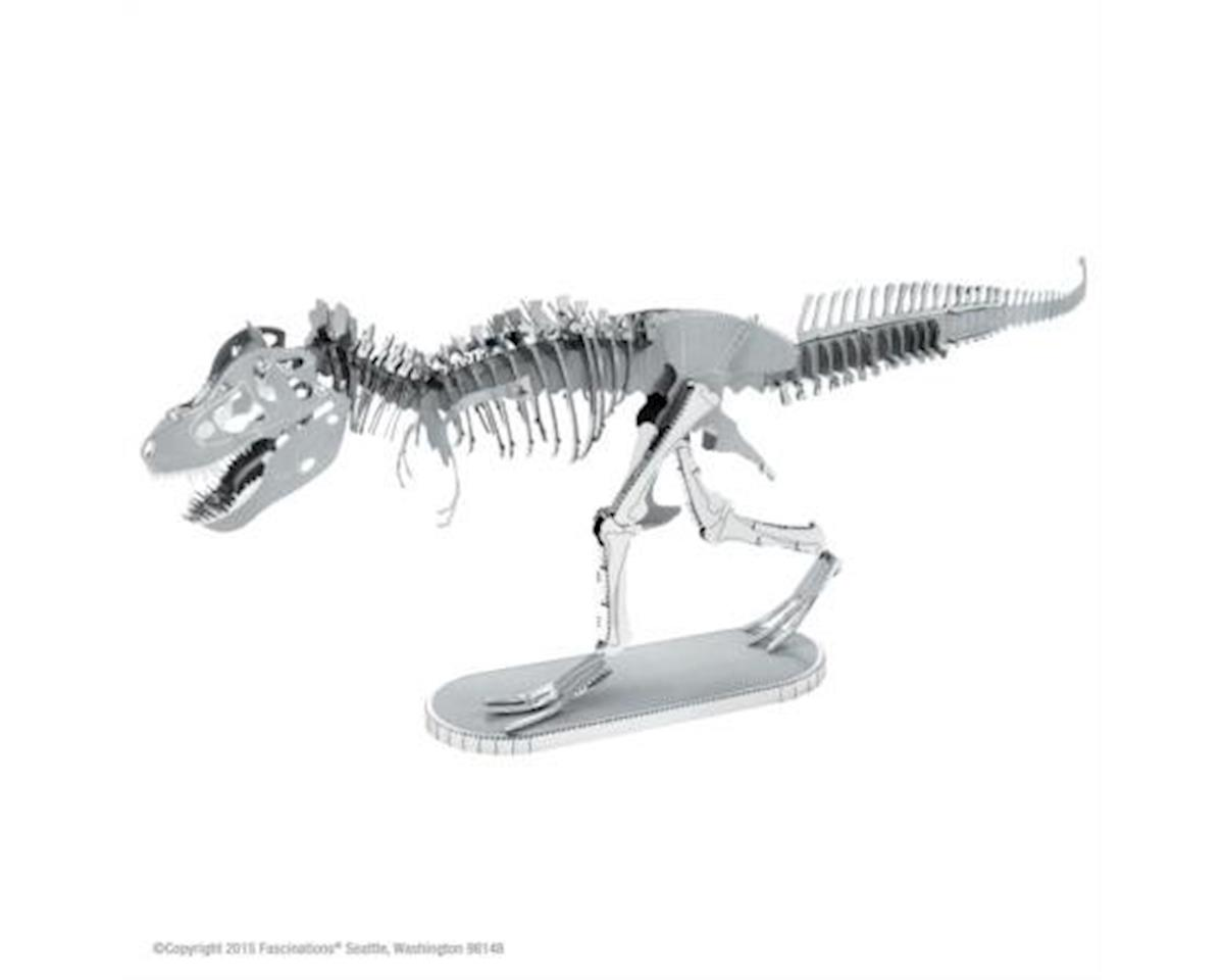 Fascinations Metal Earth Tyrannosaurus Rex Skeleton 3D Metal Model Kit