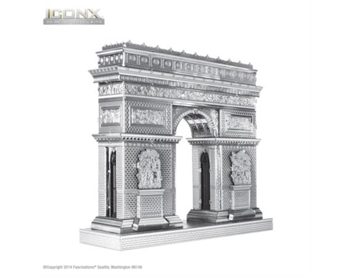 Fascinations ICX005 ICONX - Arc De Triomphe - 3D Metal Model Kits