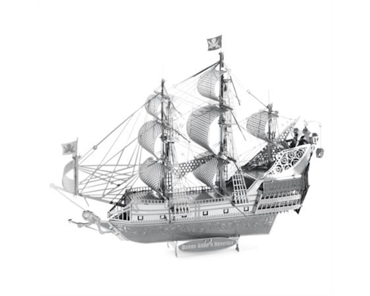 Fascinations Iconx 3D Metal Model Kits Queen Anne's Revenge