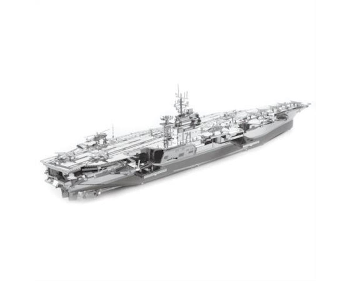 Fascinations Metal Earth ICONX USS Roosevelt CVN-71