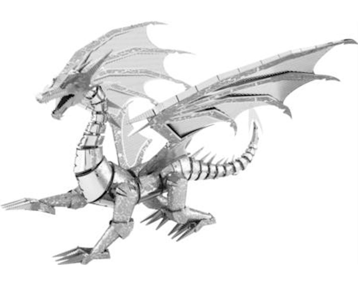 Fascinations Metal Earth Iconx - Silver Dragon