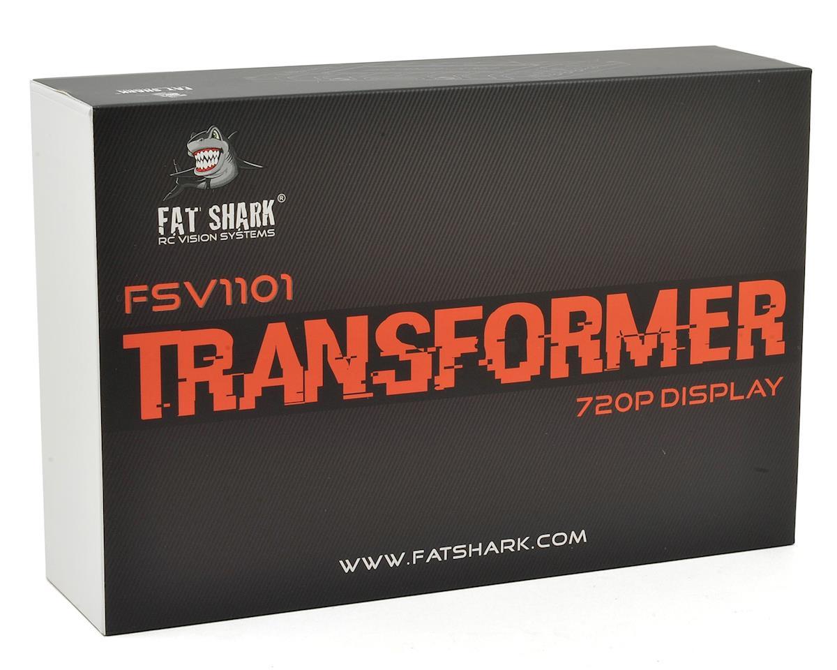 FatShark Transformer HD 720p FPV Monitor w/5.8GHz Receiver & Antenna Diversity