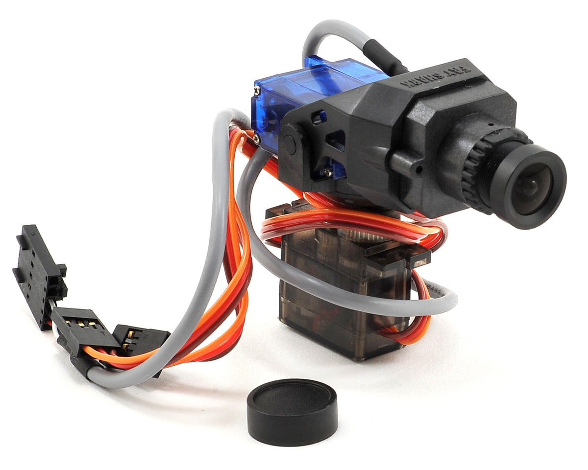 FatShark WDR CMOS 700TVL Pan/Tilt Mount Camera