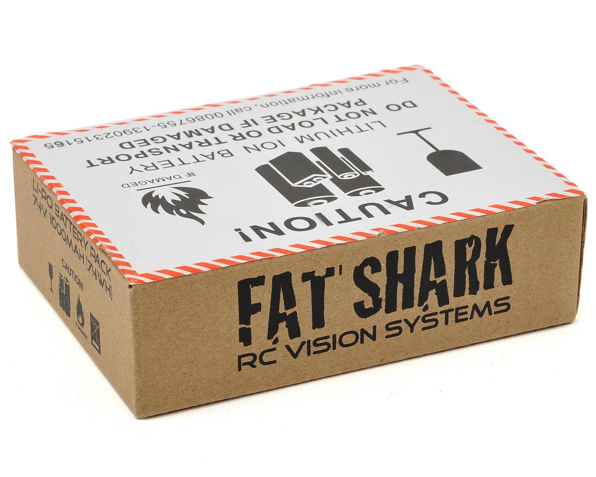 FatShark 1A Headset LiPo Battery Pack (7.4V/1000mAh)