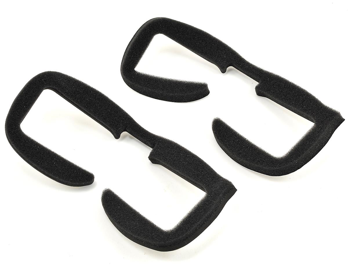 Dominator HD V2 FPV Goggle Faceplate w/Fan (White) by FatShark