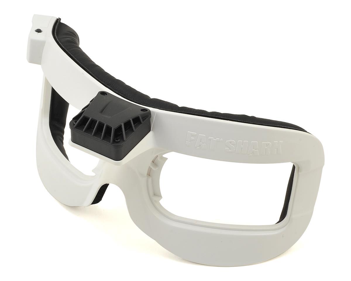 FatShark FPV Goggle Faceplate w/Fan (White) (Dominator V2/V3/HD/HD2/HD3)