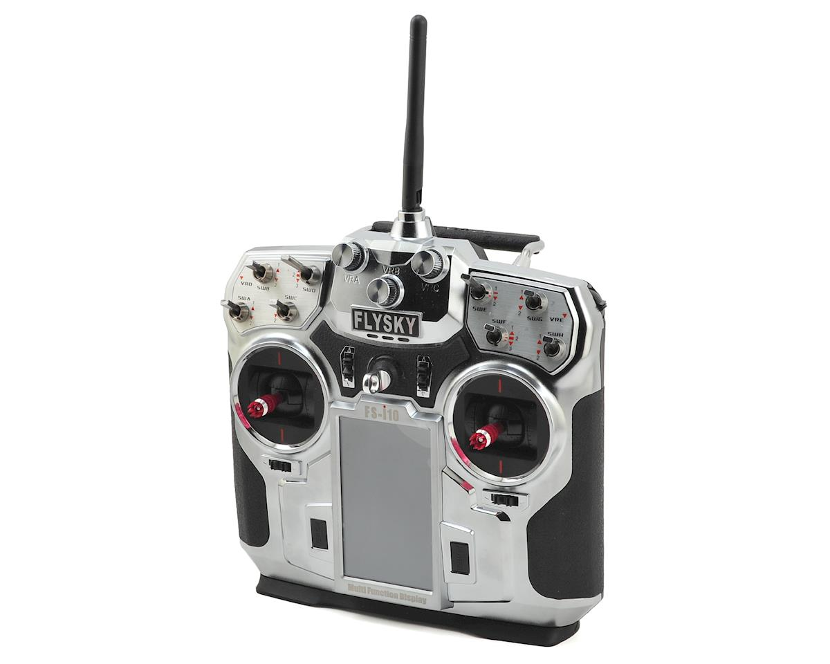 Flysky FS-i10 2.4Ghz AFHDS2 10 Channel Transmitter w/Telemetry
