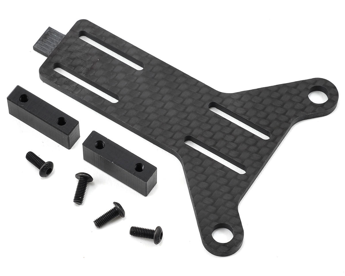 Factory RC B5M/T5M Carbon Fiber Adjustable Battery Strap