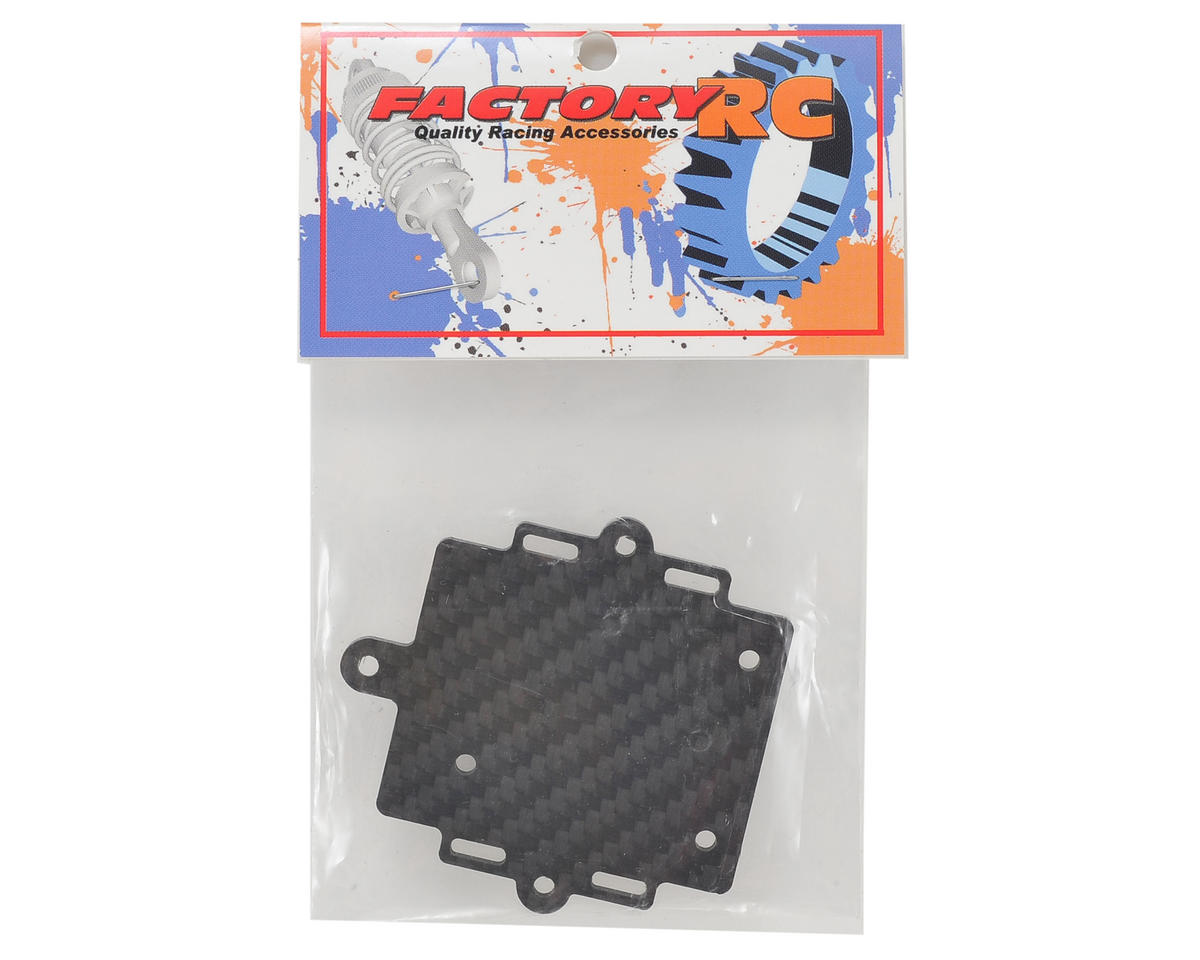 Factory RC Axial Yeti Carbon Fiber ESC Mounting Plate