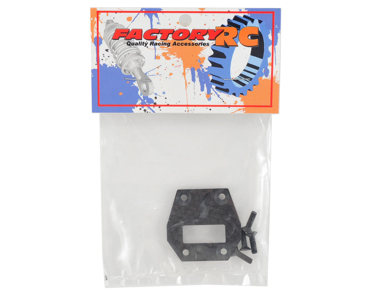 Factory RC D413 Zeus Carbon Fiber Center Differential Plate