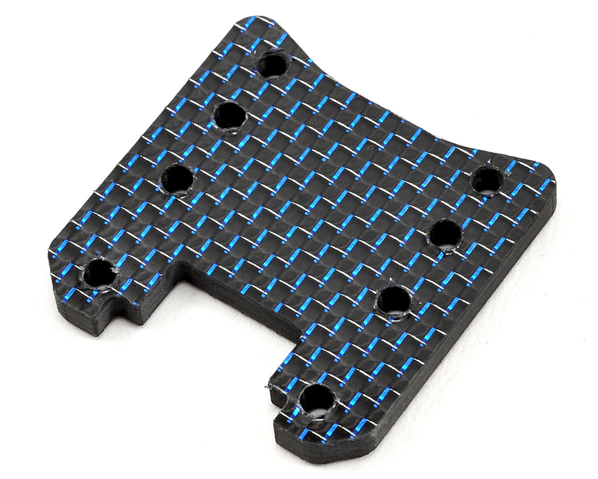 Factory RC Yokomo B-Max2 Carbon Fiber Rear Tower Base (Blue)