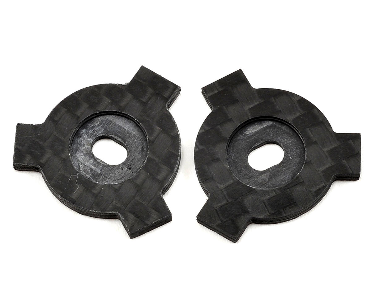 Factory RC Avid/Schelle Carbon Fiber Slipper LockOut Plate Set (2) (Team Durango DESC210R)