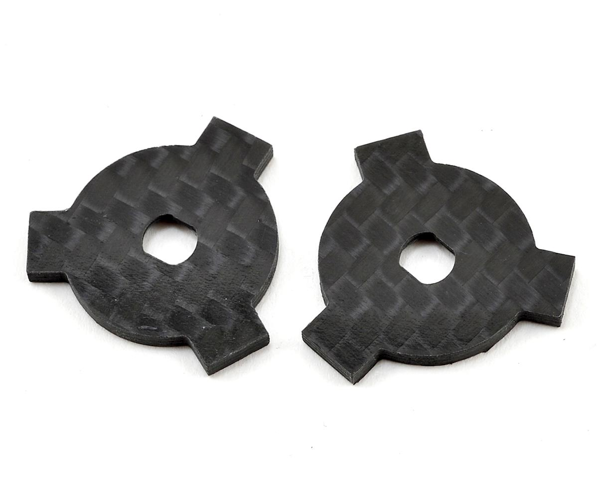 Avid/Schelle Yokom/Kyosho Carbon Fiber Slipper LockOut Plate (2) by Factory RC