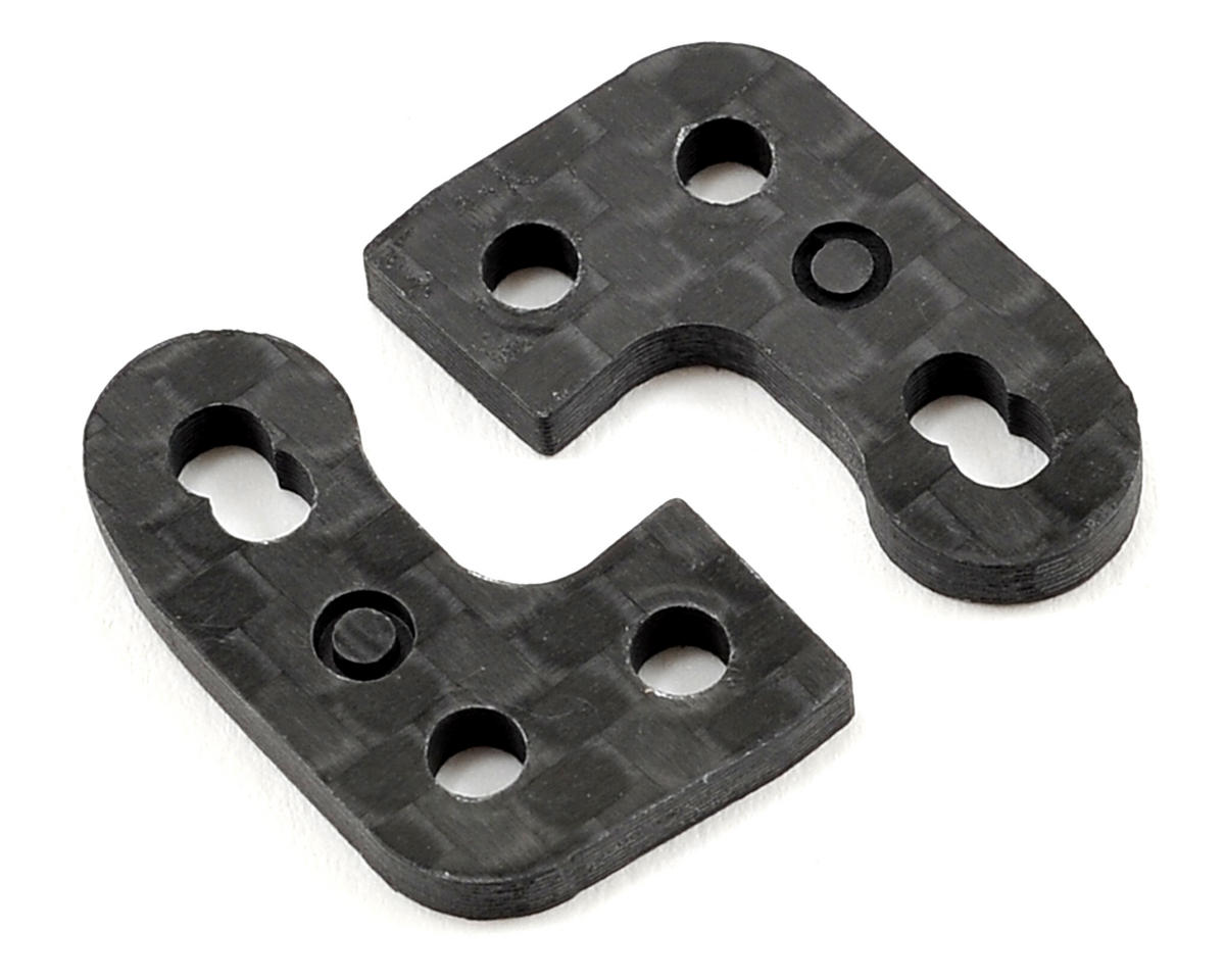 "Factory RC D413 Carbon Fiber ""Odd"" Steering Block Arm Set"