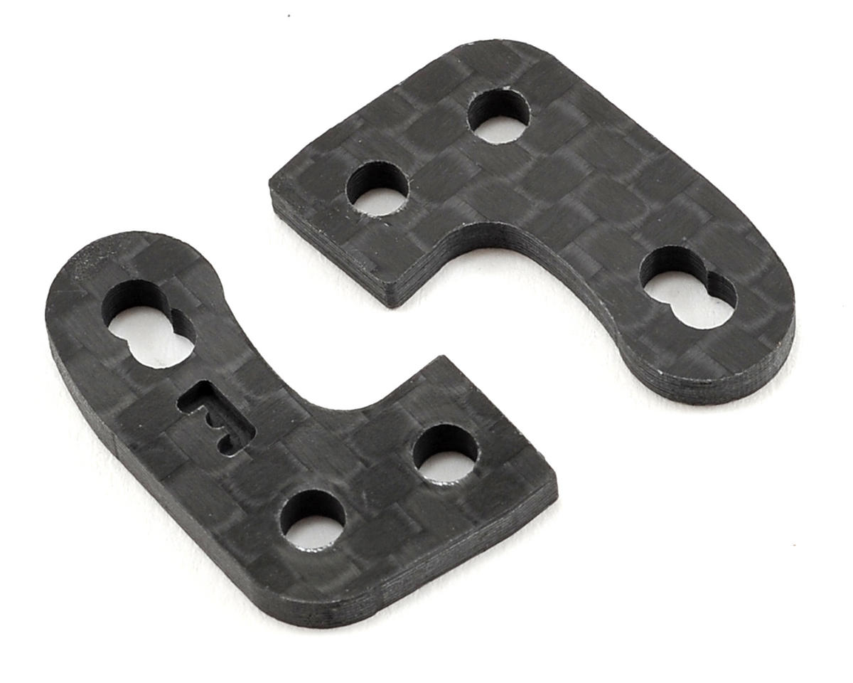 "Factory RC D413 Carbon Fiber ""Even"" Steering Block Arm Set"
