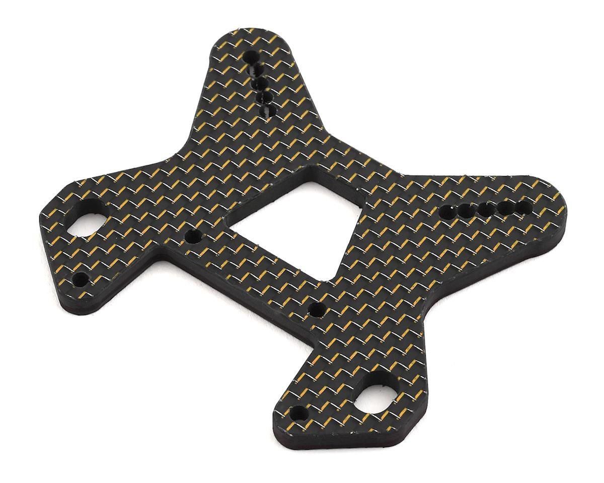Factory RC MBX8 Carbon Fiber Front Shock Tower (Gold)