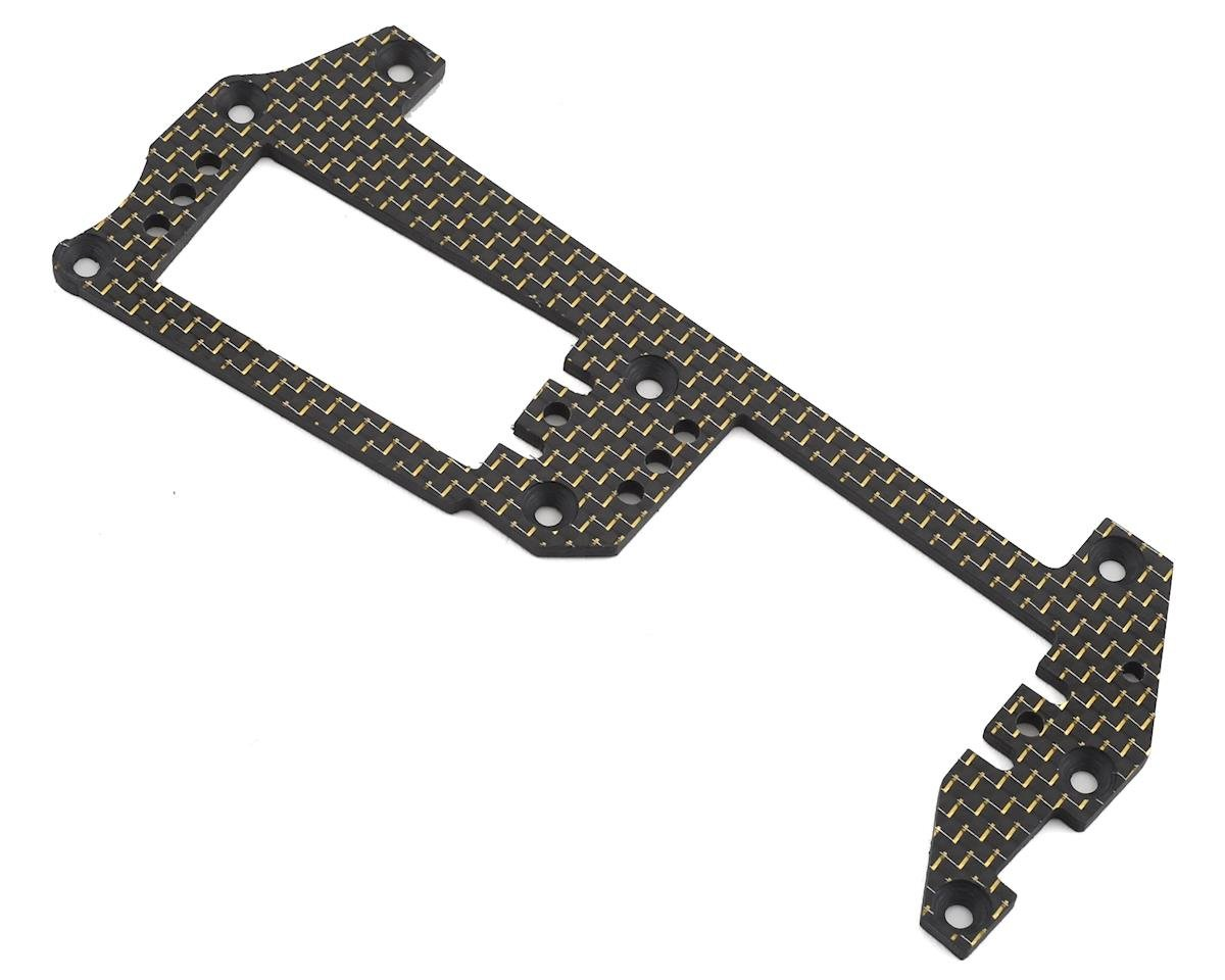 Factory RC MBX8 Carbon Fiber Radio Tray (Gold)