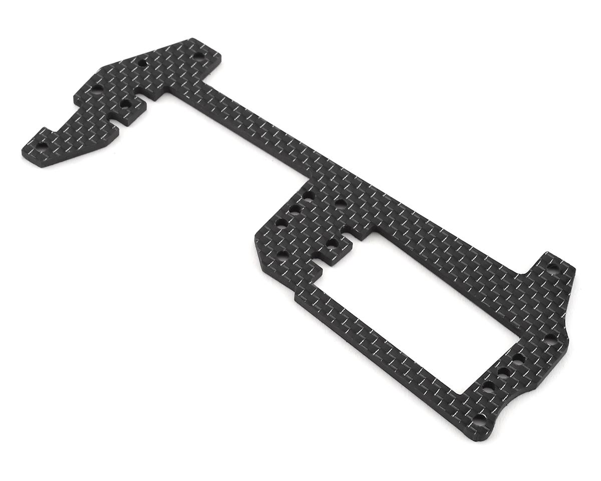 Factory RC MBX8 Carbon Fiber Radio Tray (Black)