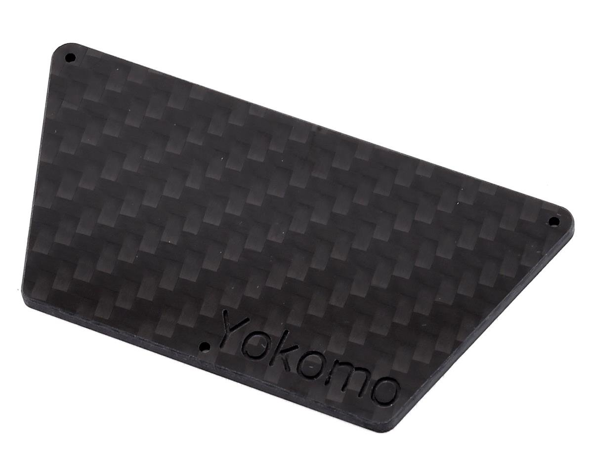 Factory RC Yokomo YZ-2T Radio Tray Plate (Black)