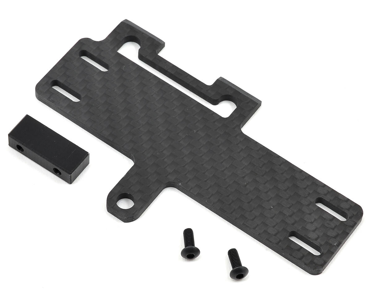 Factory RC Carbon Fiber 22-4 Shorty Brace w/Stop