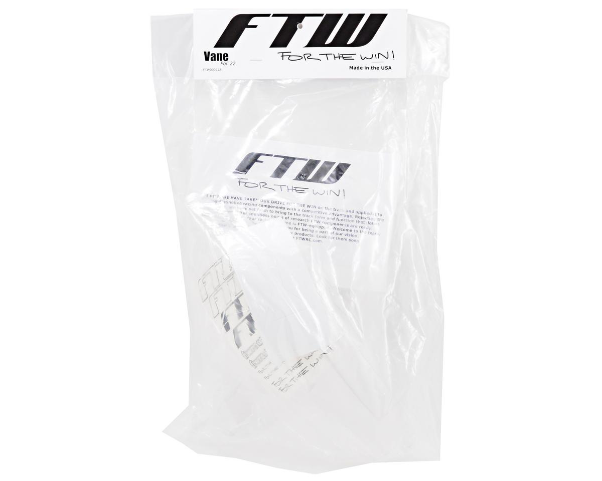 """FTW Racing TLR 22 """"Vane"""" Body w/2 Wings"""