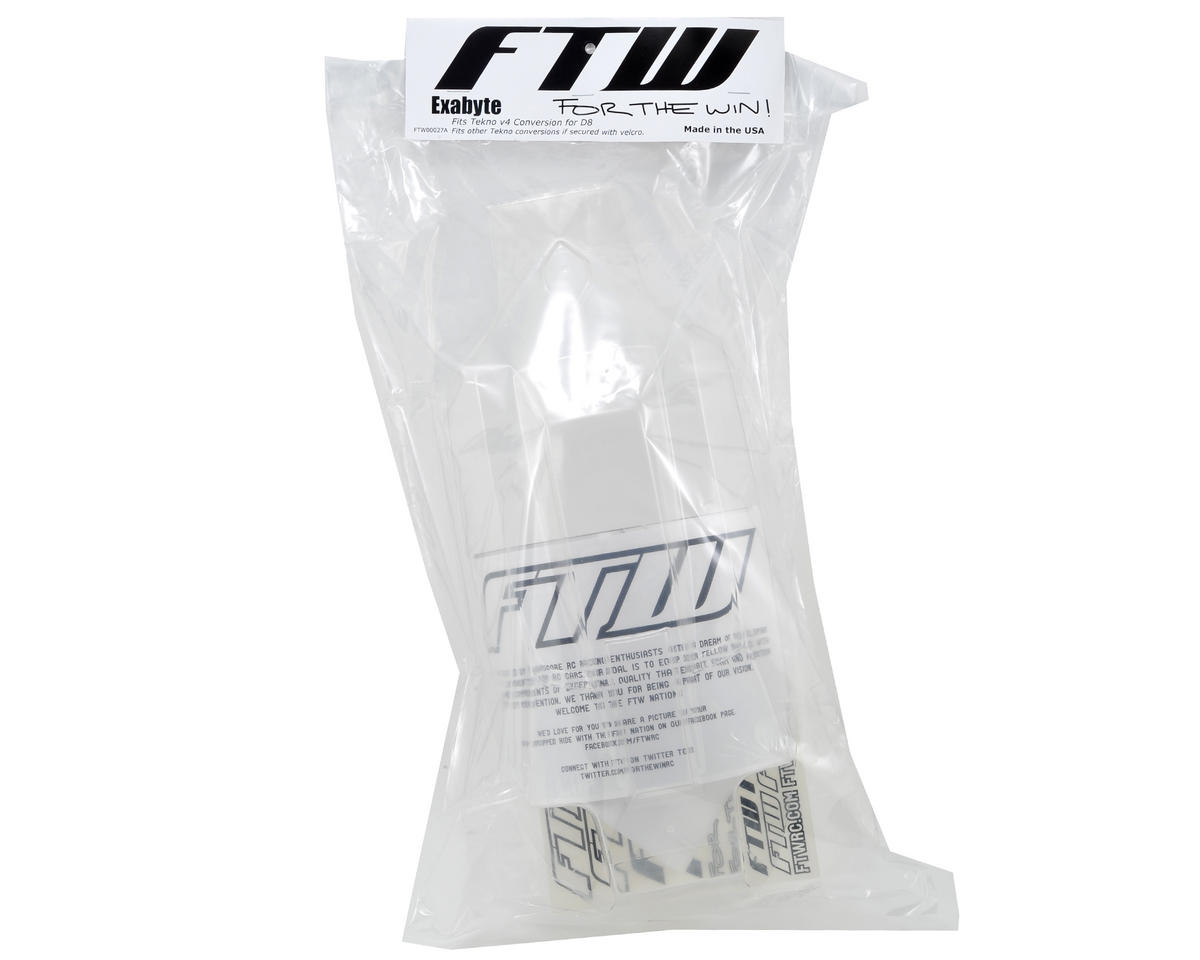 """FTW Racing Tekno RC V4 D8 Conversion """"Exabyte"""" Body"""