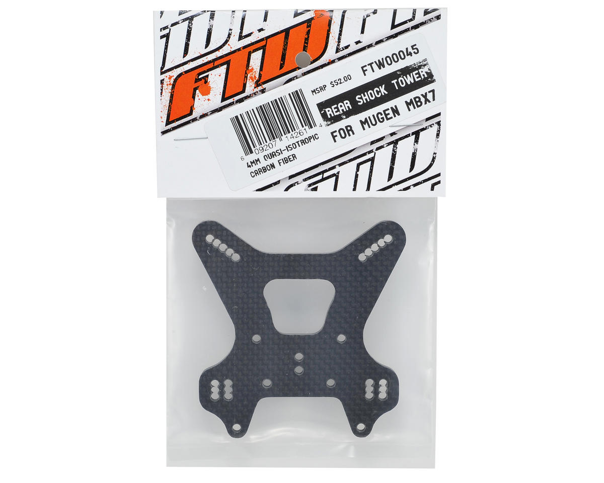FTW Racing MBX7 Carbon Fiber Rear Shock Tower