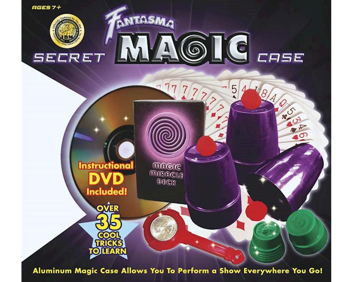 2008 Secret Magic Case Set w/DVD 50+ Tricks by Fantasma Toy