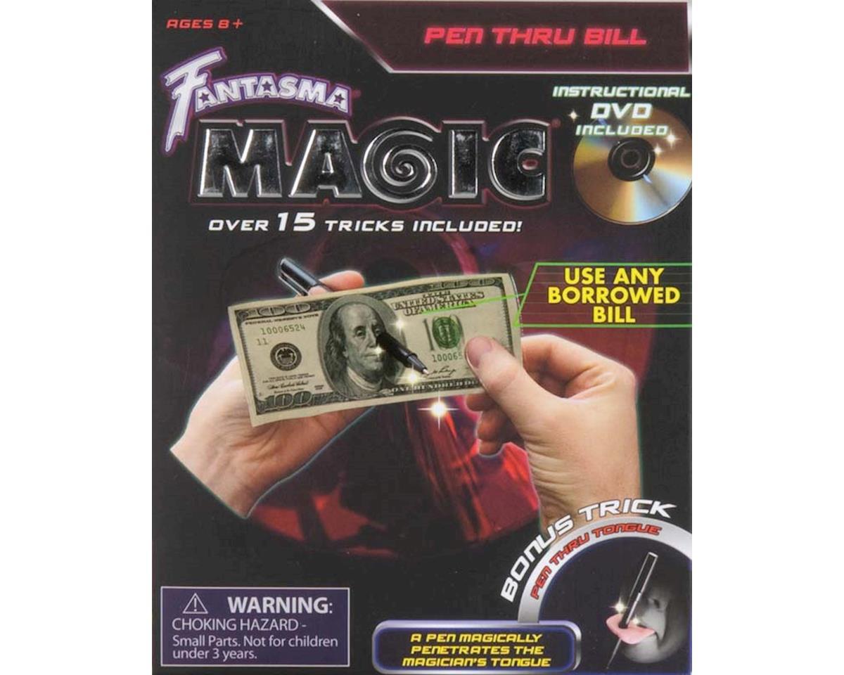 507DV Pen Thru Bill w/DVD by Fantasma Toy
