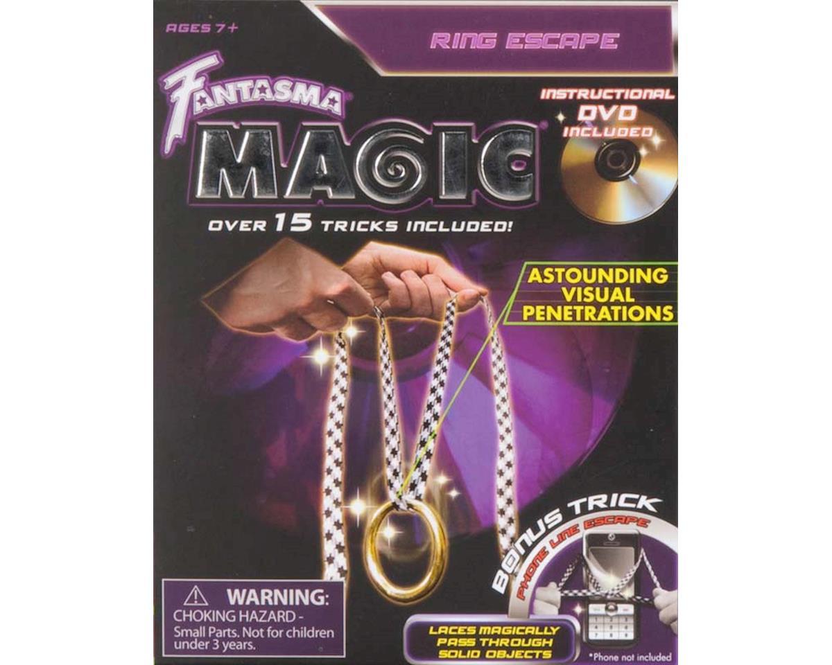 508DV Ring Escape Magic w/DVD by Fantasma Toy