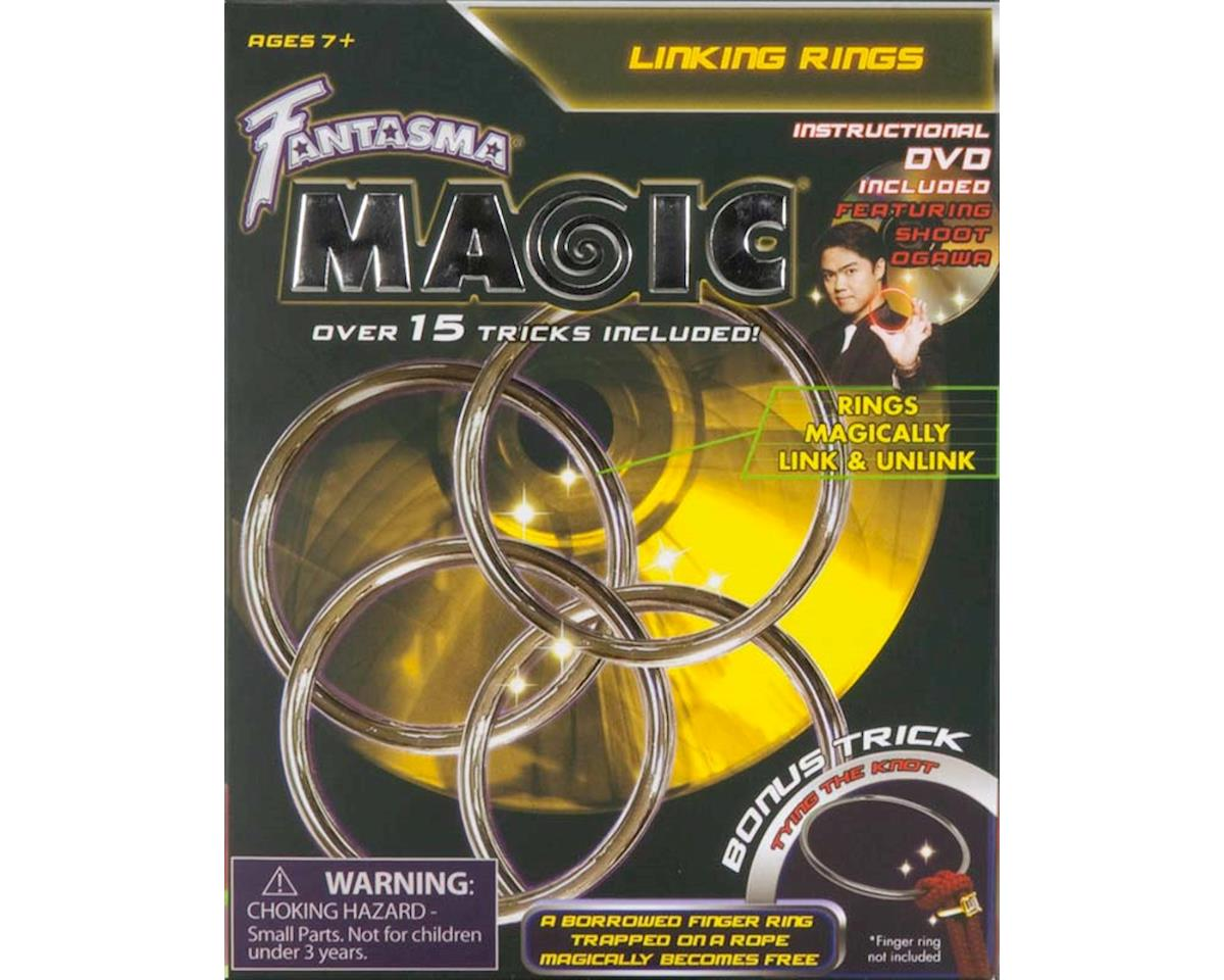 509DV Linking Rings w/DVD by Fantasma Toy