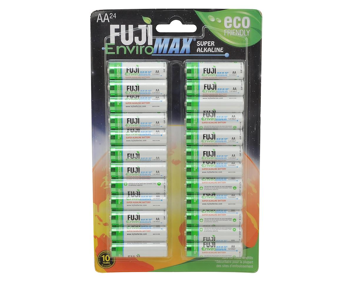EnviroMAX AA Super Alkaline Battery (24) by Fuji