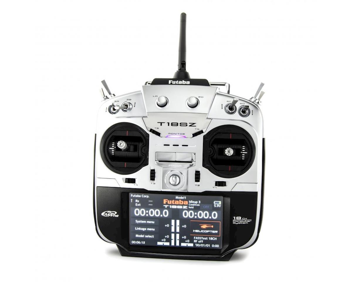 Futaba 18SZ H 2.4GHz FASST 18 Channel Radio System (Heli) w/R7014SB