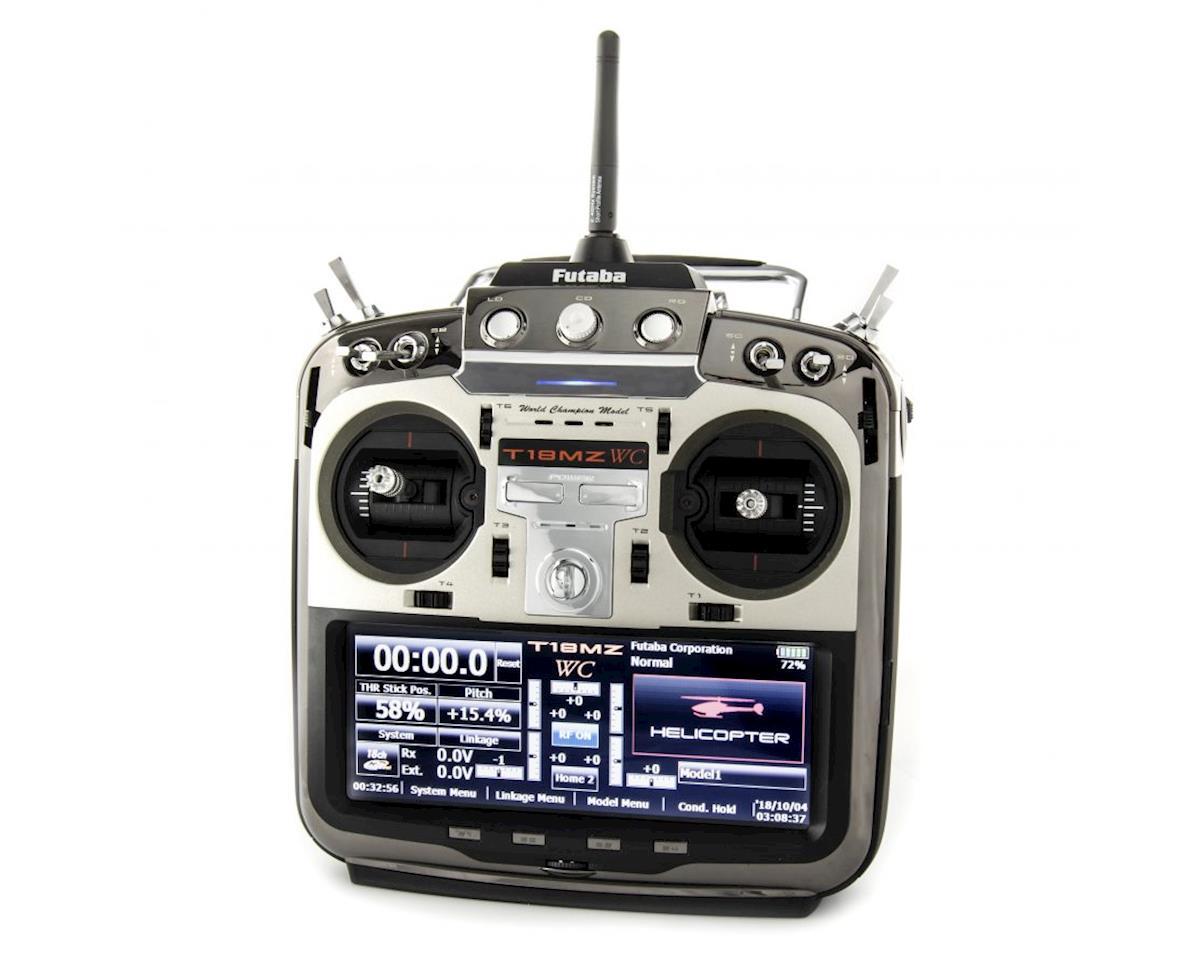 Futaba 18MZ H 2.4GHz FASST 18 Channel Radio System (Heli)