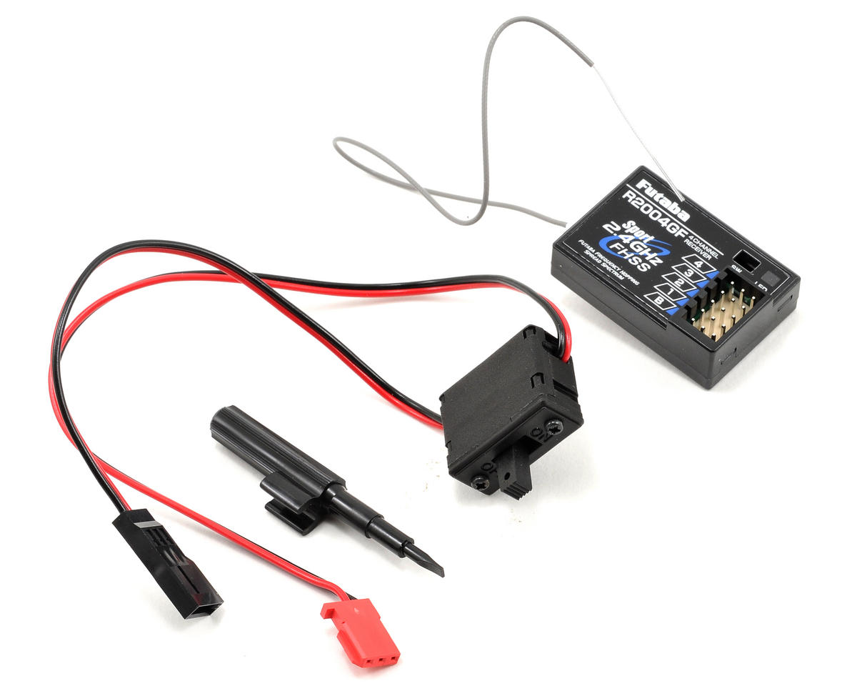Futaba 3PL 2.4GHz FHSS Radio System w/R2004GF Receiver