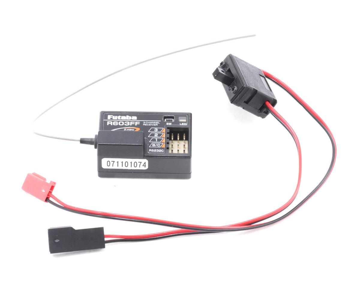 Futaba 3GR-FS 2.4GHz FASST 2 Stick Surface Radio System w/R603FF Receiver