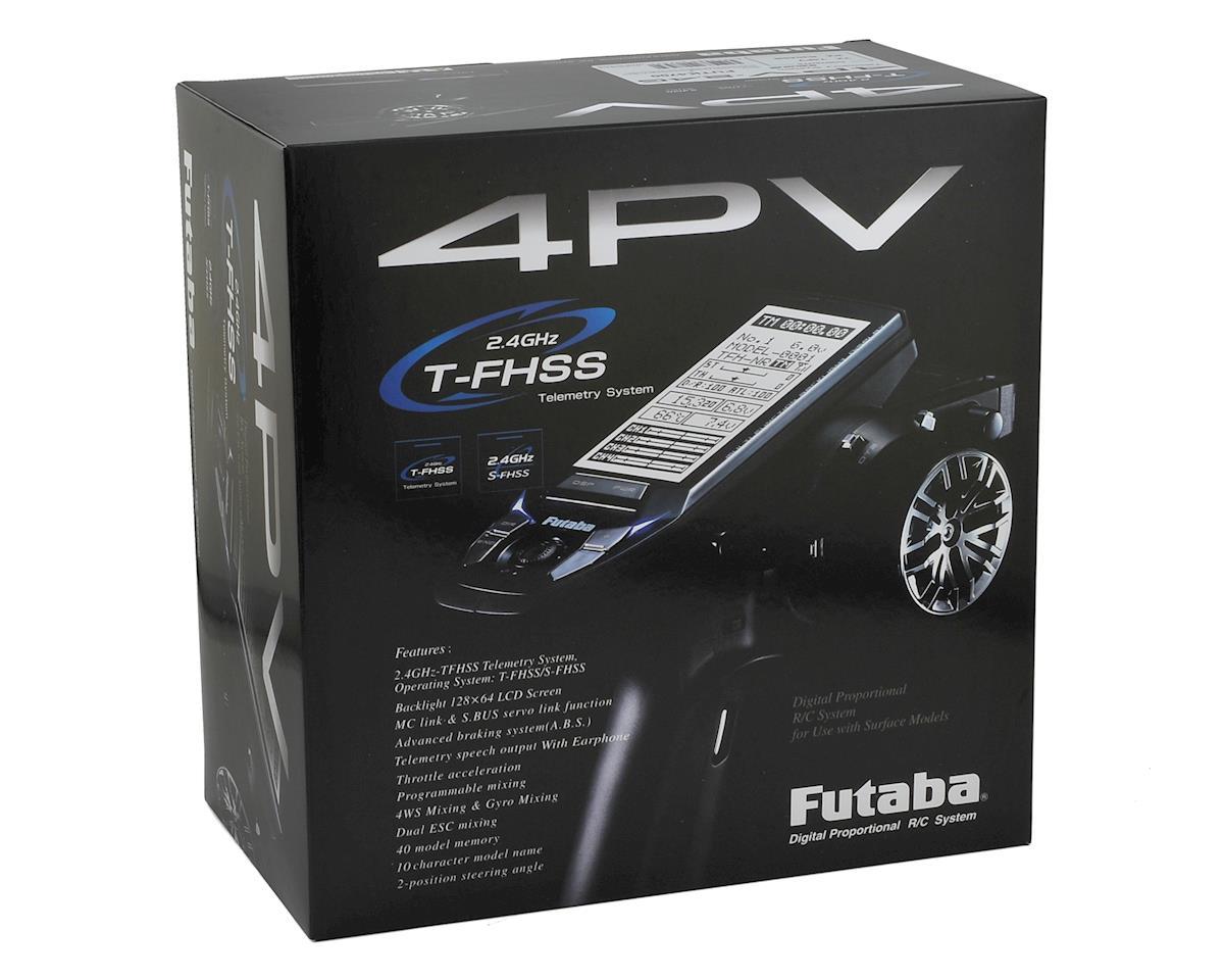 4PV 4-Channel 2.4GHz S-FHSS/T-FHSS Radio System w/R304SB Receiver by Futaba