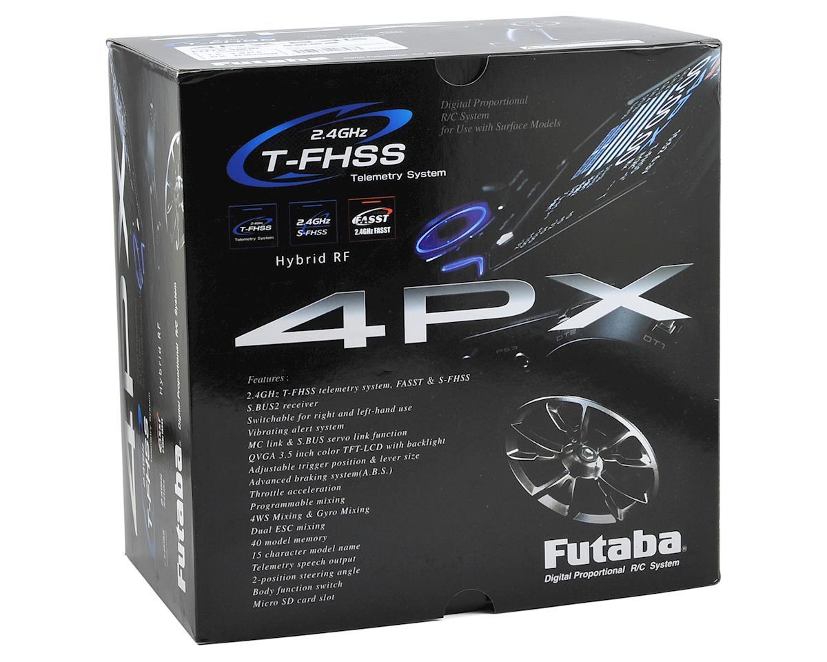Futaba 4PX 4-Channel 2.4GHz T-FHSS Radio System w/R304SB Receiver