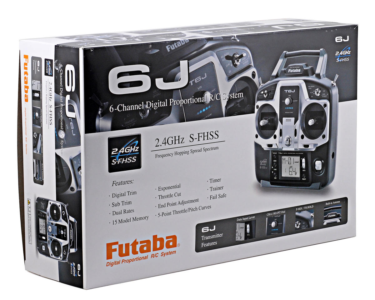 Image 4 for Futaba 6J 2.4GHZ S FHSS Radio System (Heli)