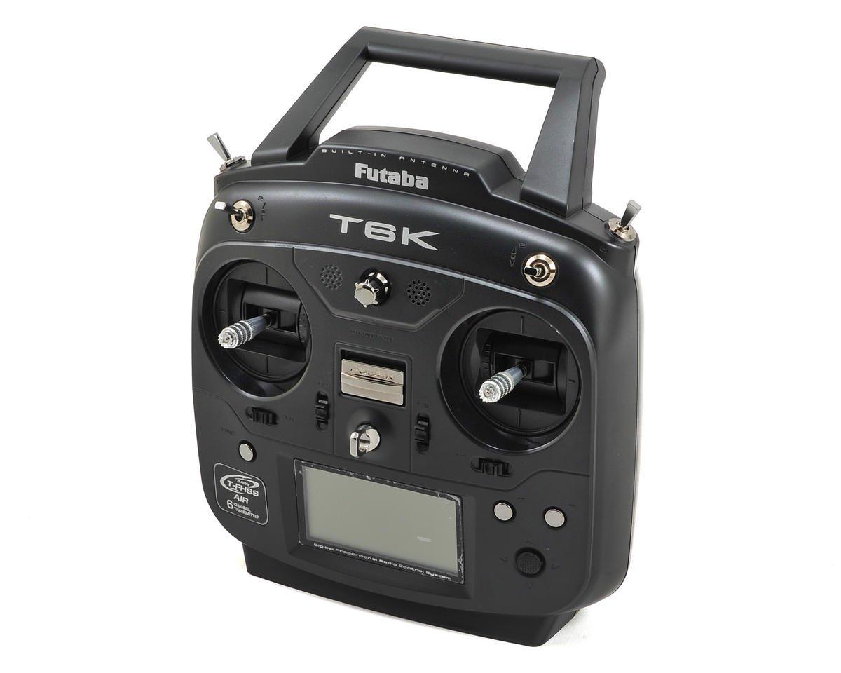"""Futaba 6K 2.4GHz S-FHSS/T-FHSS """"Helicopter"""" Radio System w/R3006SB Receiver"""
