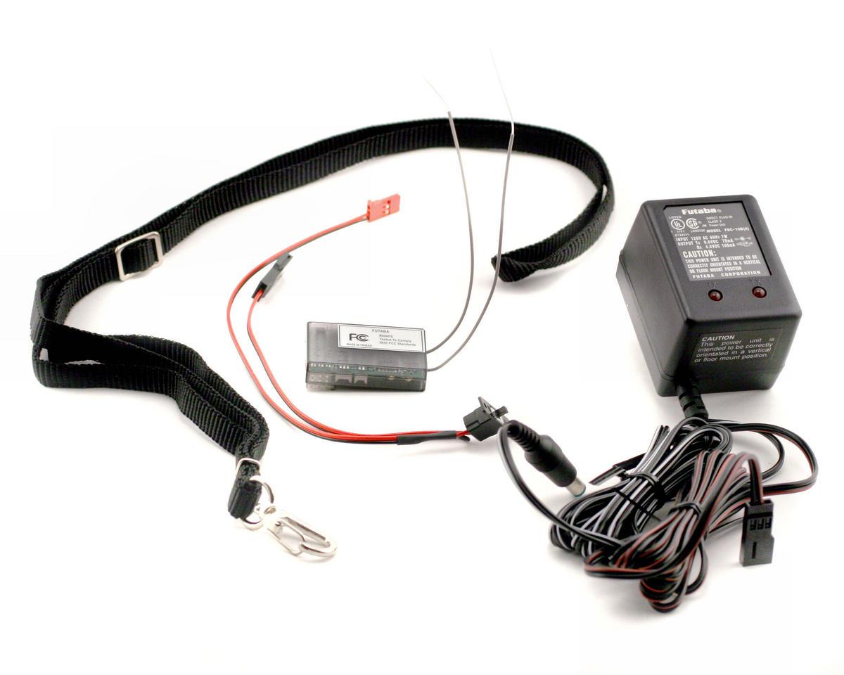 Futaba 6EX 2.4GHz FAAST Helicopter/Airplane Radio System w/R617FS Receiver