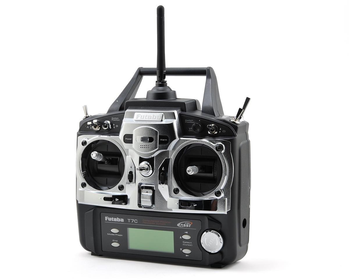 Futaba 7C 2.4GHz FASST Airplane Radio System w/R617FS Receiver