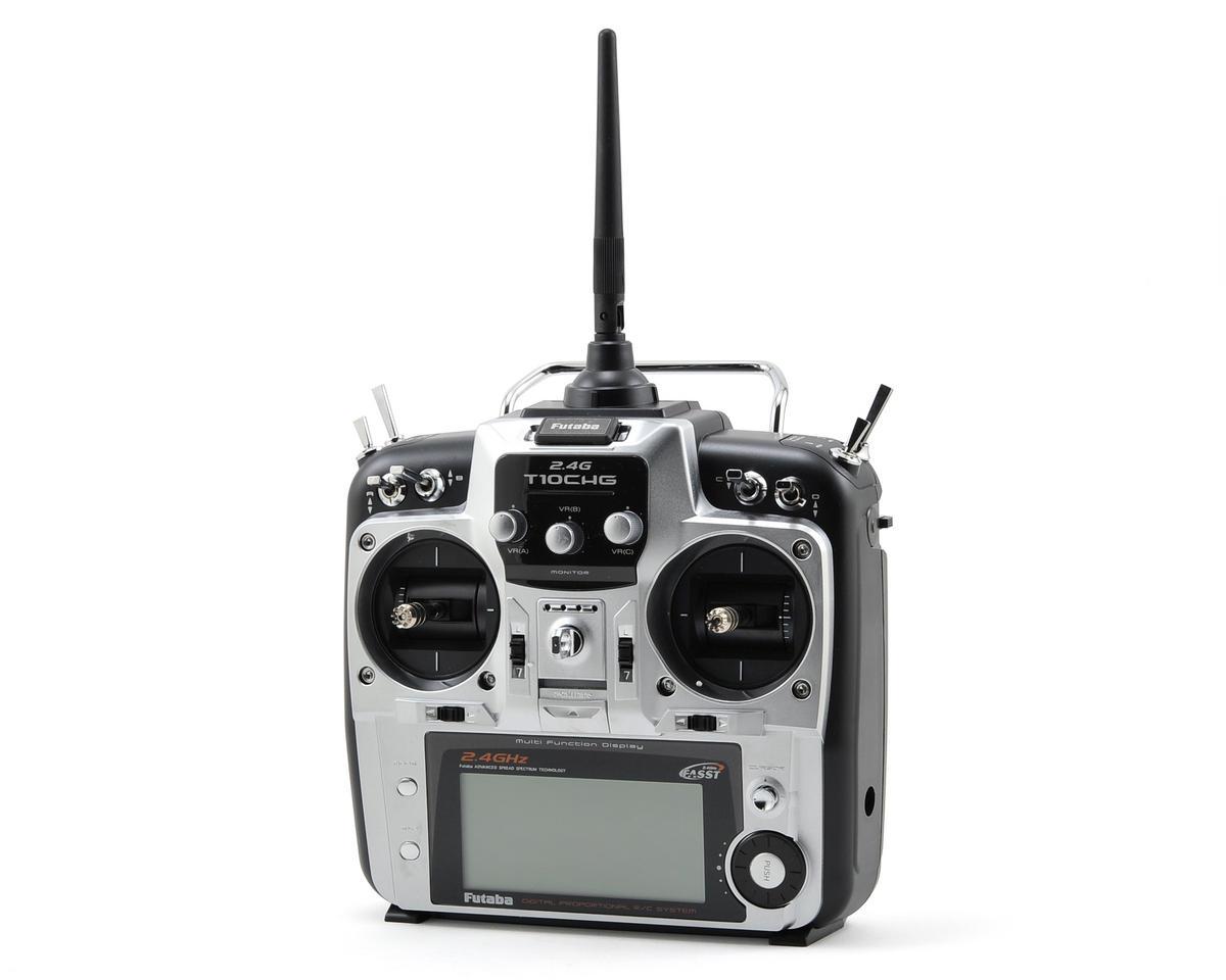 """Futaba 10CG 2.4 GHz FASST """"Airplane"""" Radio System w/R6014HS Receiver"""