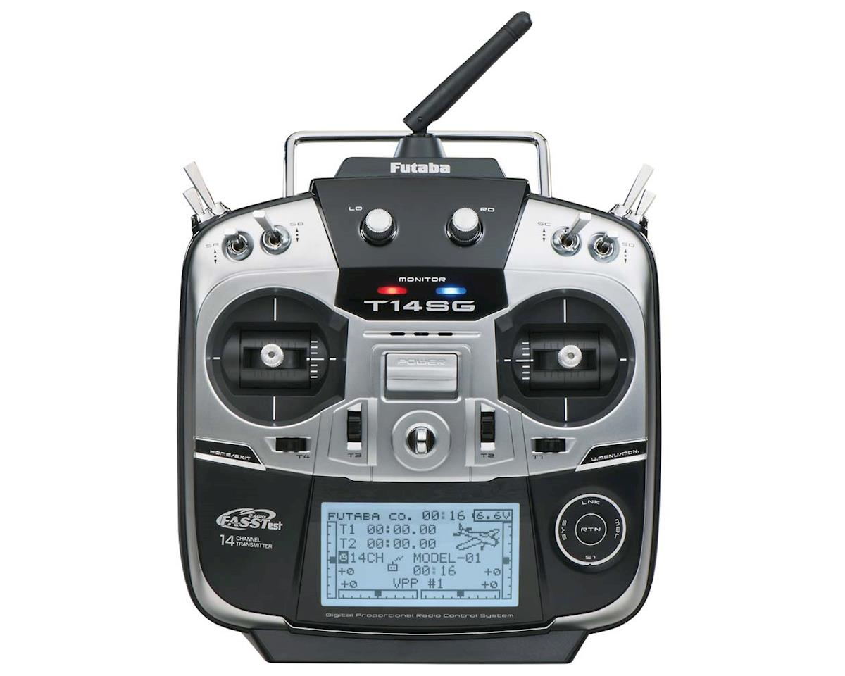 Futaba 14SGA 2.4GHz 14-Channel Airplane Radio System w/R7008SB Receiver