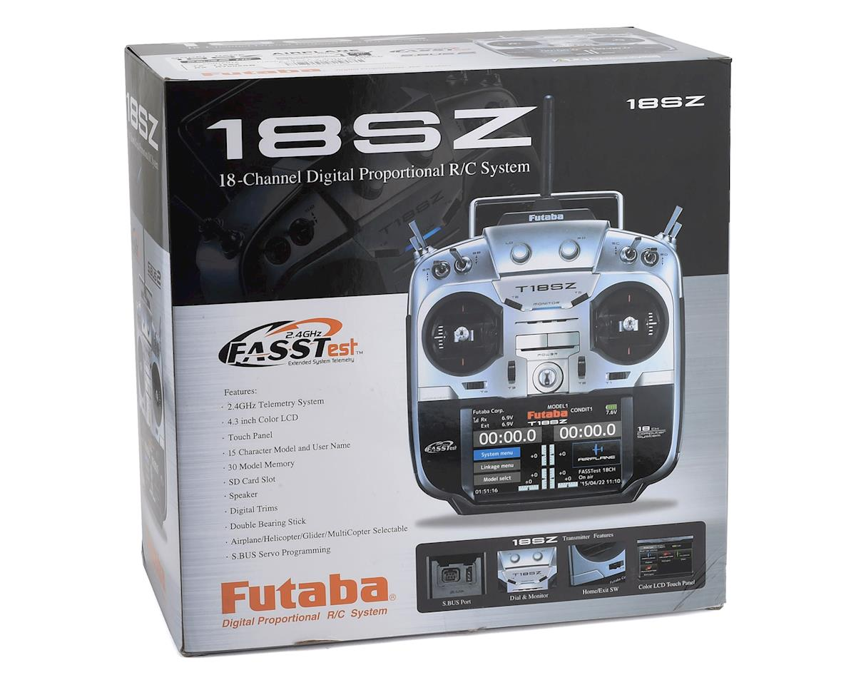 "Futaba 18SZA 2.4GHz FASST ""Airplane"" Telemetry Radio System (Mode 1)"