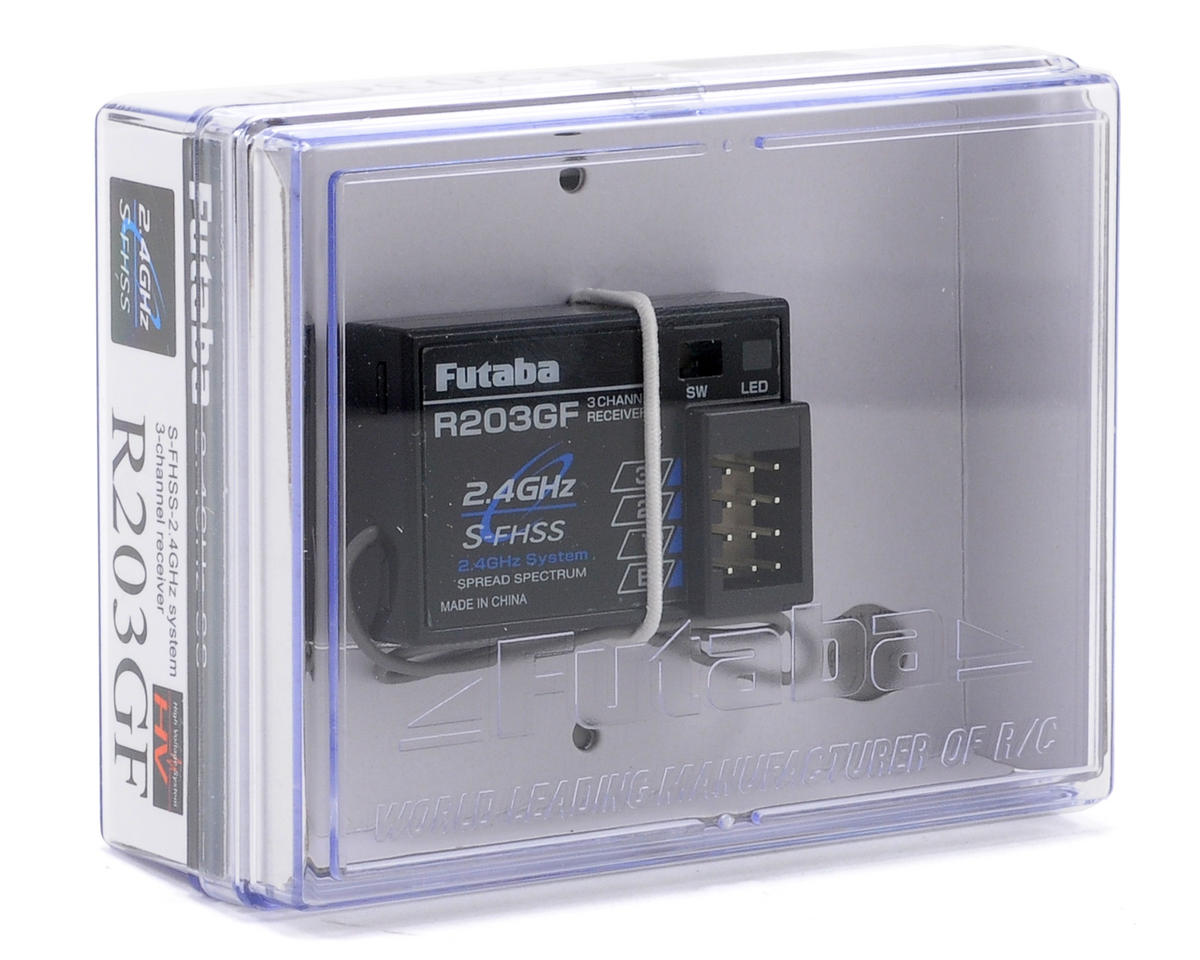 R203GF S-FHSS 3-Channel 2.4GHz Receiver by Futaba