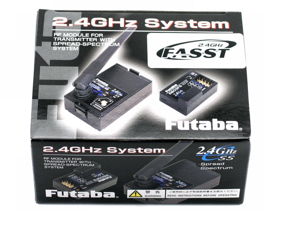 Futaba 3PK 2.4Ghz FASST Transmitter Module w/R603FS Receiver