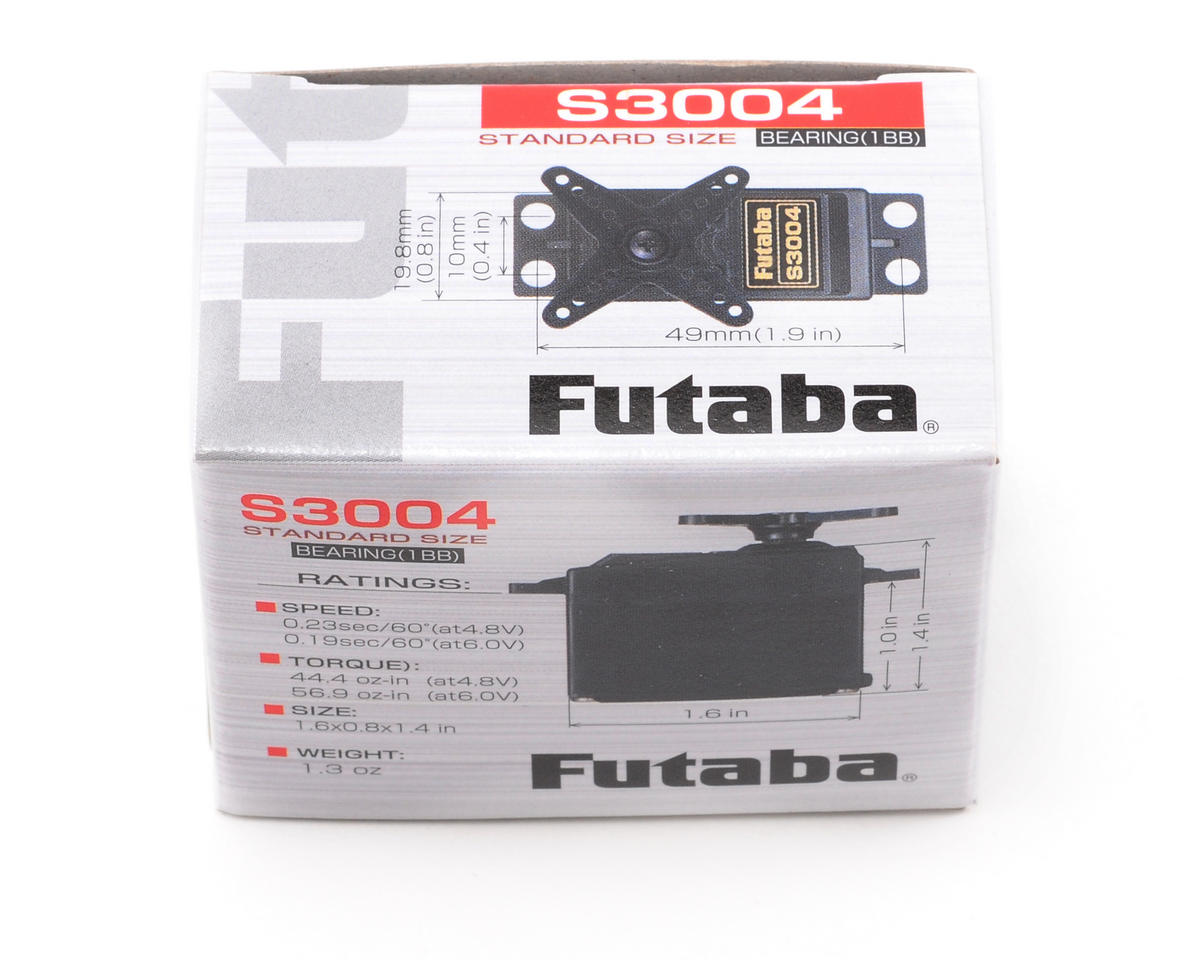 Futaba S3004 Standard Light Weight Ball Bearing Servo