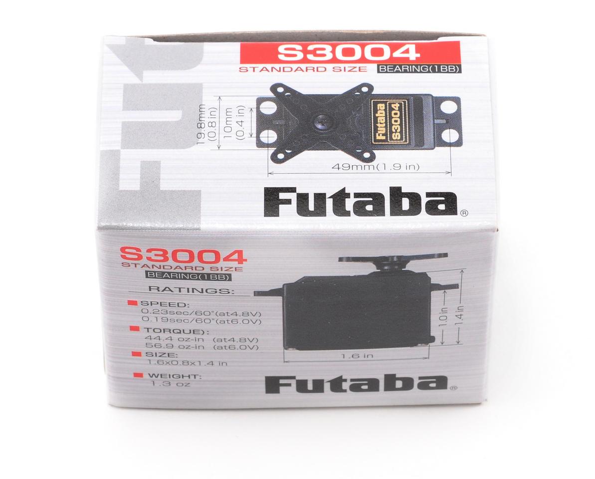 Image 2 for Futaba S3004 Standard Light Weight Ball Bearing Servo
