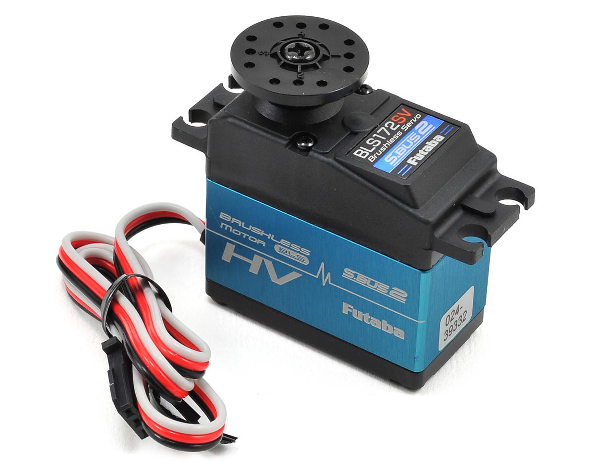 Futaba BLS172SV Brushless S.Bus2 Ultra Torque Programmable Servo (High Voltage)